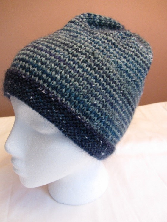 KC Knit Helix Hat A photo