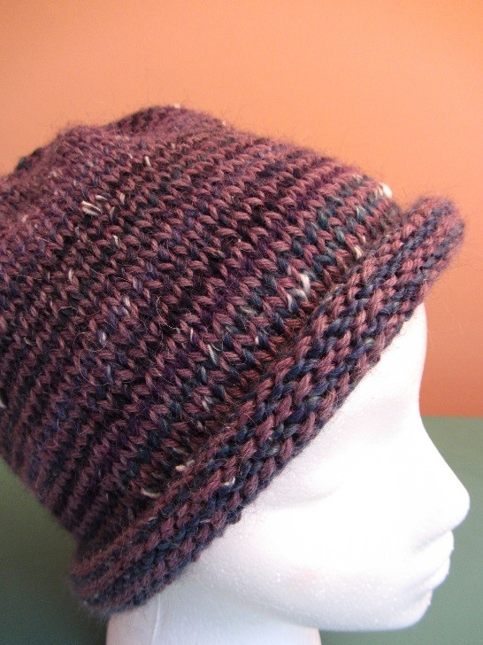 KC Knit Helix Hat B photo