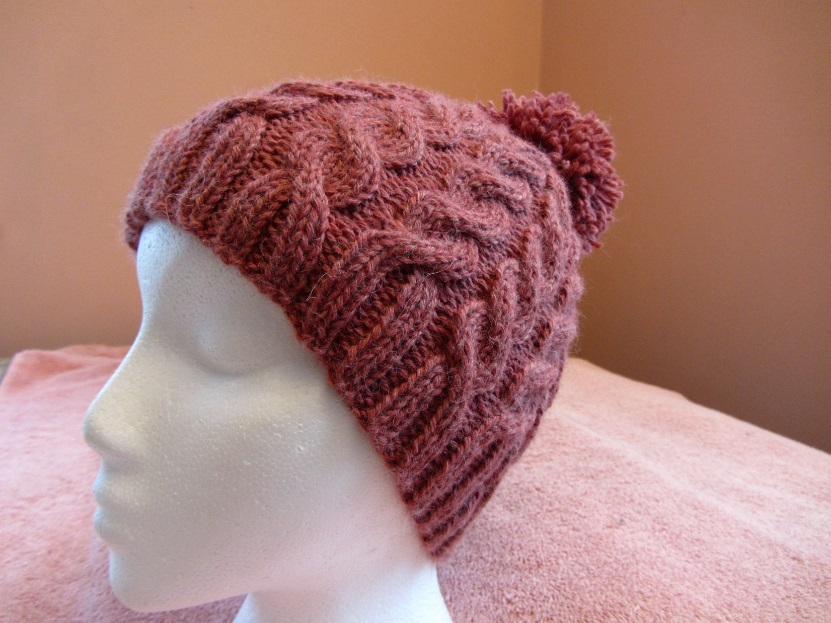 KC Knit Twin Cables Hat