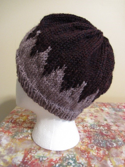 KC Knit Cape May NJ Color Points Hat