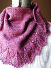 KC Knit Patterns picture of shawette picture