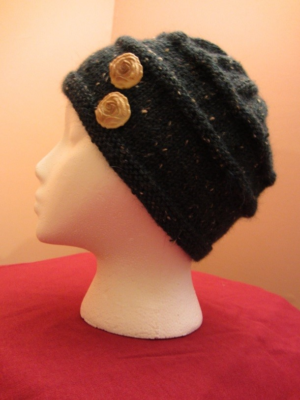 KC Knit Retro Cloche photo